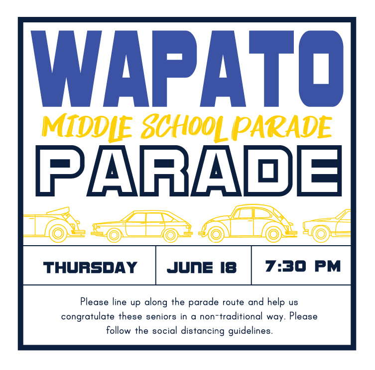 Wapato Middle School Parade