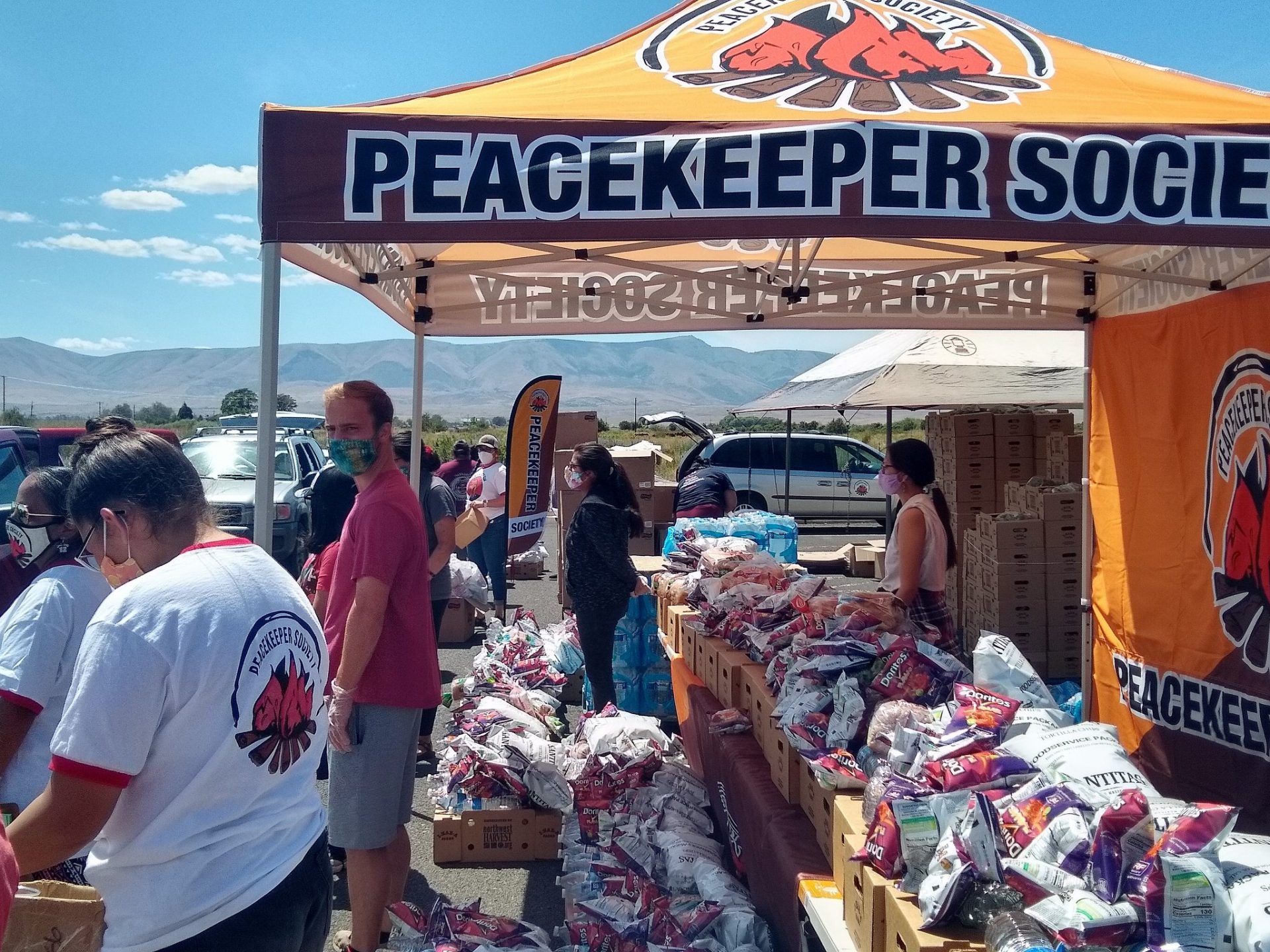 Friday, August 21st, Peacekeeper Society Drive-thru Food Distribution